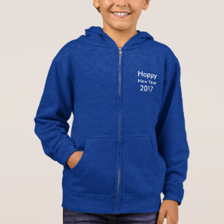 Template DIY editable text Happy New Year 2017 Hoodie