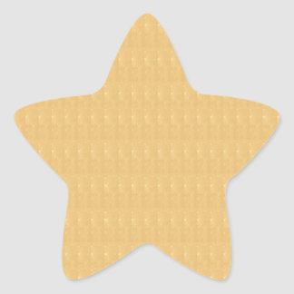Template DIY Golden Crystal Texture + TXT IMAGE Star Sticker