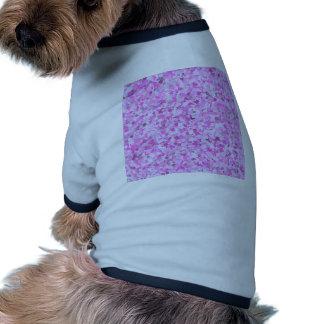 Template DIY Pink Graffiti Confetti Add Text Image Pet Tee Shirt
