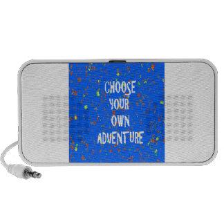 TEMPLATE diy Reseller Customer QUOTE Wisdom Words Portable Speaker