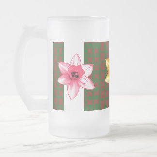 TEMPLATE editable delete add TEXT PHOTO base color Frosted Beer Mug