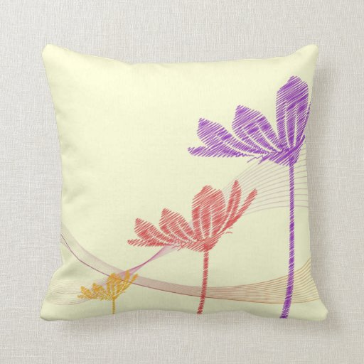 Template Fast REC SOLID Throw Pillow