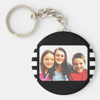 Template, Film Template Basic Round Button Key Ring