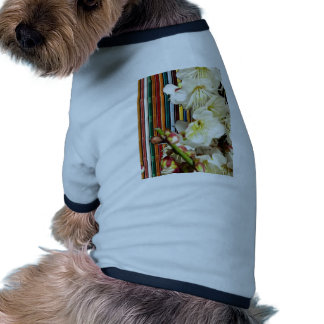 Template Flowers White add Text Image Customize 99 Dog T-shirt