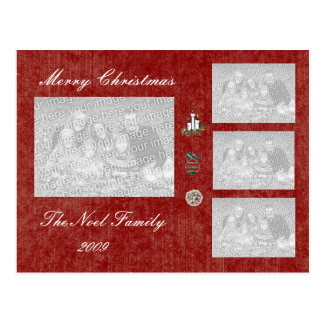 TEMPLATE - Holiday Photo Card