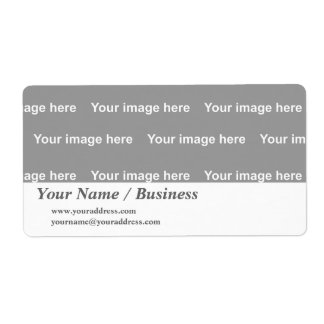template label shipping label