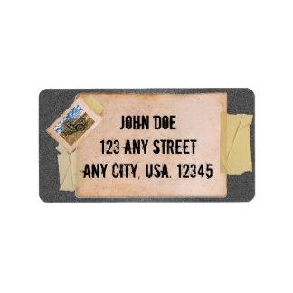 Template Address Label