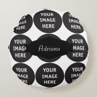 template round pillow
