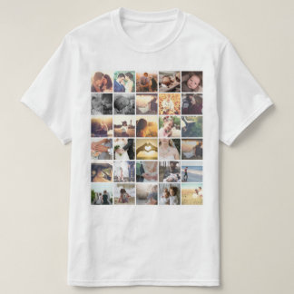 Template photo collage T-Shirt