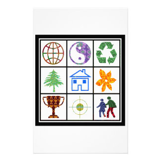 TEMPLATE Resellers Customers SYMBOLS motivational Stationery Paper