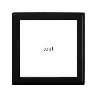 template test gift box