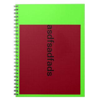 template test notebook