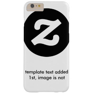 template text no image template barely there iPhone 6 plus case