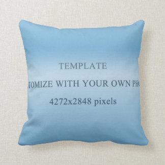 template throw cushions