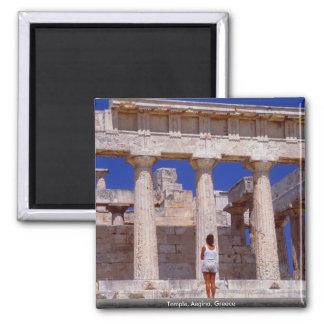 Temple Aegina Greece Refrigerator Magnets