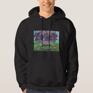 Temple Angel Unicorn Wing Fairy Dragon Hoodie