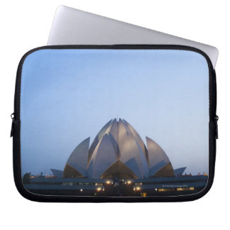 Temple at Night Laptop Sleeve