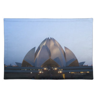 Temple at Night Placemat