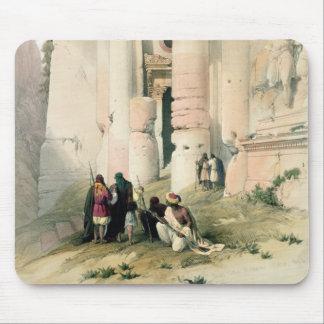 Temple called El Khasne, Petra, March 7th 1839, pl Mouse Mat