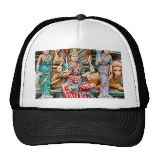 Temple carvings cap