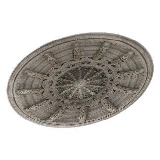Temple Ceiling III Dinner Plate