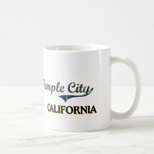 Temple City California City Classic Basic White Mug