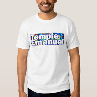 Temple Emanuel Stained Glass  Men's Value T-Shirt