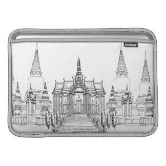 Temple Faade MacBook Sleeve