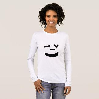 Temple Garments Smiley Face Long Sleeve T-Shirt