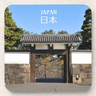 Temple gate in Tokyo, Japan Coaster