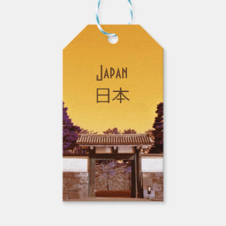 Temple gate in Tokyo, Japan Gift Tags