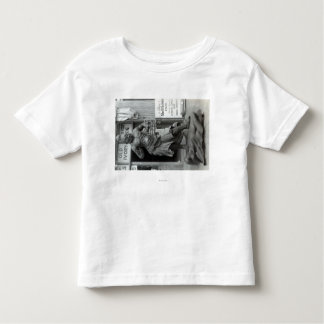 Temple Guard Statue at Pacific Curio Shop, Toddler T-Shirt