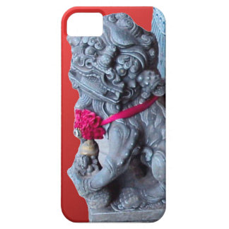 Temple guardian dogs, Singapore iPhone 5 Cover