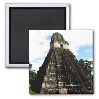 Temple I, Tikal, Guatemala Magnet