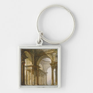 Temple in Ruins Key Chain