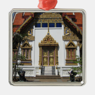 Temple In Thailand Christmas Ornament