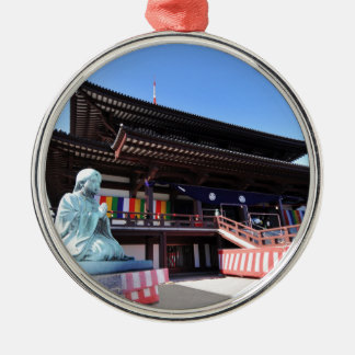 Temple in Tokyo, Japan Christmas Ornament