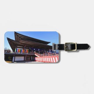 Temple in Tokyo, Japan Luggage Tag
