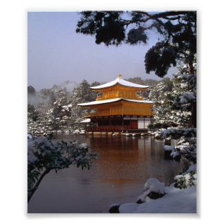 Temple in Winter Photograph