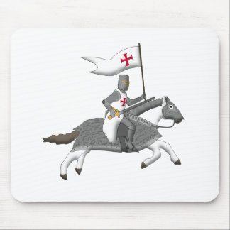 Temple knight attack png mouse mat