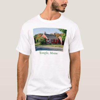 Temple, Maine Schoolhouse T-Shirt