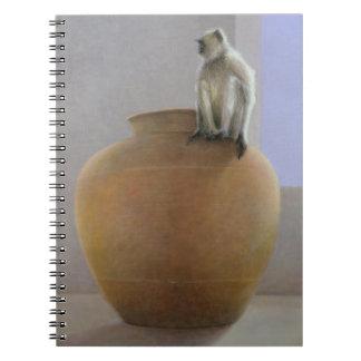 Temple Monkey Notebook
