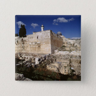 Temple Mount 15 Cm Square Badge