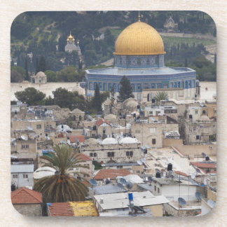 Temple Mount and Dome of the Rock Beverage Coaster