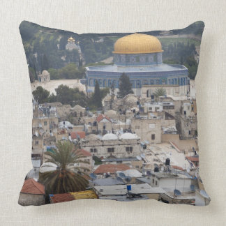 Temple Mount and Dome of the Rock Throw Pillows