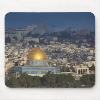 Temple Mount and Dome of the Rock, dawn Mouse Pad