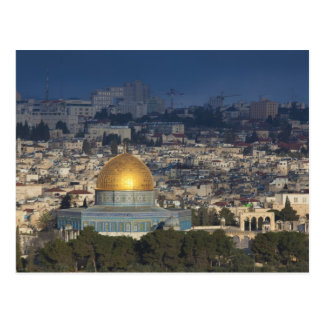Temple Mount and Dome of the Rock, dawn Postcard