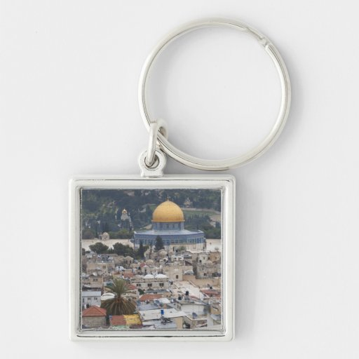 Temple Mount and Dome of the Rock Key Chain