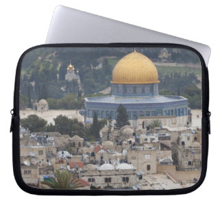 Temple Mount and Dome of the Rock Laptop Sleeve