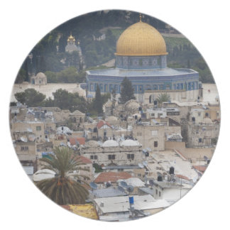 Temple Mount and Dome of the Rock Party Plates